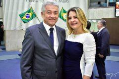 Everton e Eliane Fernandes
