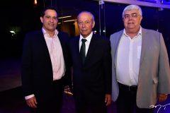Wellington Leitão, Isaac Pontes e Eugênio Vasconcelos