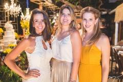Camila Ellery, Karina Jalles e Natália Viana