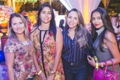 Carolina Ferreira, Sara Monteiro, Nágila Gomes e Flávia Fonteles