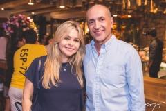 Cláudia e Mário Jorge Menescal