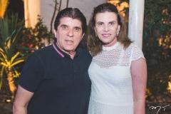 Dito Machado e Sandra Pinheiro