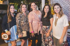 Flávia Amora, Fabiana Moretti, Carol Belchior, Fabyane Amora e Amanda Aldigueri