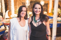 Manuela Weyne e Juliana Capelo