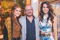 Rafaela Tavares, Romualdo Cassiano e Jade Oliveira