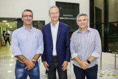 Alex Davi, Jairo Amorim e Cleirton Porto