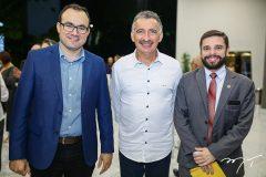 Carlos Mende, Artur Bruno e Júlio César