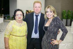 Francisca Vasconcelos, José Cláudio e Claudênia Regia