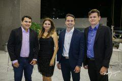 Franklin Emerson, Daniele Sobral, Wdson Webster e Jonathan Coutinho
