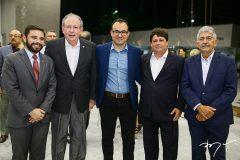 Júlio César, Ricardo Cavalcante, Carlos Mendes, George Lima e Lélio Mathias