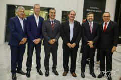 Lelio Mathias, Jairo Amorim, Eduardo Neves, Paulo André Holanda, Élcio Batista e Elano Guilherme