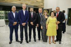 Lelio Mathias, Jairo Amorim. Elcio Batista, Jose Claudio, Claudenia Regia, Francisca Vasconcelos e Elano Guilherme