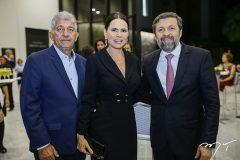 Lelio Mathias, Luciana Sousa e Elcio Batista