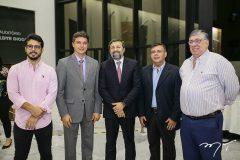 Rafael Fujita, Andre Siqueira, Elcio Batista, Sergio Alcantra e Maia Junior