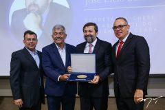 Rubens Veras, Lelio Mathias, Elcio Batista e Elano Guilherme