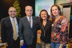 Antônio Carvalho, Cid Carvalho, Maria Luiza e Daniela Carvalho