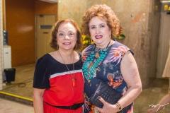 Beatriz Alcântara e Lêda Maria