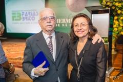 Cid Carvalho e Maria Luiza Fontenele