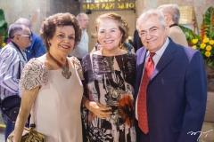 Constança Távora, Socorro Fujita e Abineias Bezerra