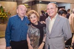 Ednilo Soàrez, Fernanda Quinderé e João Soares Neto