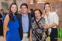 Hildete de Sá Cavalcante, Dito Machado, Deise Machado e Jacqueline de Sá Cavalcante