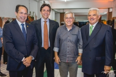 João Milton, Flávio Pinto, Paulo César Norões e Tales de Sá Cavalcante