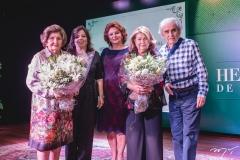 Nádia, Dayse, Hilda, Irami de Sá Cavalcante e Lúcio Brasileiro