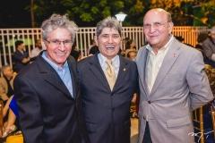 Pádua Lopes, José Augusto Bezerra e João Soares