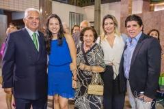 Tales e Hildete de Sá Cavalcante, Deise Machado, Jacqueline de Sá Cavalcante e Dito Machado