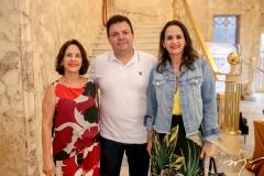 Cristina Miranda, Fernando Ferrer e Adriana Miranda