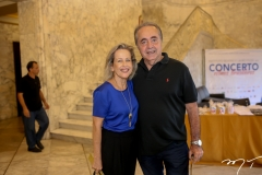 Maria Helena e Fred Carvalho