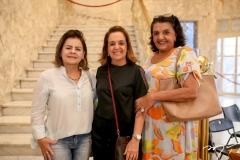 Nilce Barbosa, Simone Rizato e Benadetti Queiroz