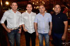 Andrade Mendonca, Francisco Campelo, Coronel Ze Nobio e Jonson Almeida