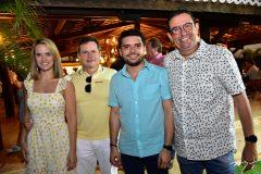 Carla e Marcos Andre Borges, Paulo Italo Sales e Caica Feirtosa