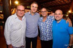 Chiquinho Feitosa, Camilo Santana, Beto Studar e Roberto Claudio