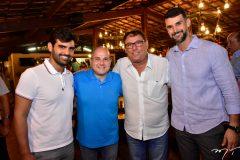Chiquinho Feitosa Filho, Roberto Claudio, Mauricio Pinheiro e Dimas Barreira
