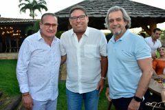 Chiquinho Feitosa, Mauricio Pinheiro e Ernesto Saboia