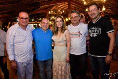 Chiquinho Feitosa, Roberto Claudio, Lucinha Feitosa, Ozilon Goncalves e Paulo Cesar Feitosa