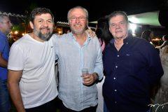 Elcio Batista, Candido Albuquerque e Carlos Juasab