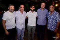 Elcio Batista, Chiquinho Feitosa, Chiquinho Feitosa Filho, Camilo Santana e Beto Studart