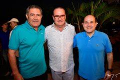 Fred Rego, Chiquinho Feitosa  e Roberto Claudio