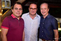 Gentil Linhares, Chiquinho Feitosa e Lissandro Fujita