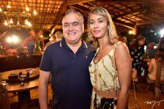 Helio Parente e Andrea Oliveira