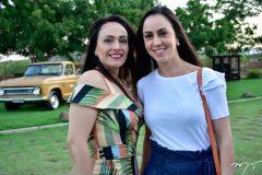 Joelma Feitosa e Carolina Leite