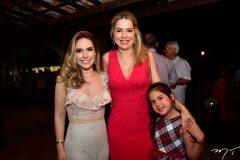 Lucinha Feitosa, Onelia Santana e Luiza Santana