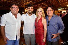 Mauricio Pinheiro, Chiquinho Feitosa Filho, Sheila Melo e Wellington Gomes