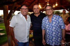 Mauricio Pinheiro, Fernando Cirino e Beto Studart
