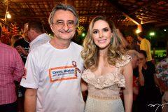 Ozilon Goncalves e Lucinha Feitosa
