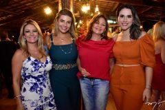 Tatiana Luma, Ana Elisa Barreira, Ana Lucia Almeida e Jessica Monteiro