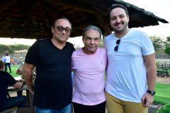 Tin Gomes, Claudio Aguiar e Admes Gomes